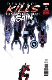 Deadpool Kills the Marvel Universe Again #4 Declan Shalvey Variant