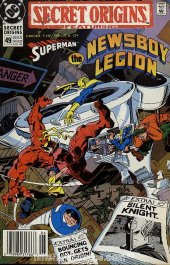 Secret Origins #49 Newsstand Edition