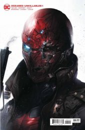 DCeased: Unkillables #1 Card Stock Variant Edition
