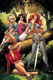 Red Sonja & Vampirella Meet Betty & Veronica #7 1:30 Sanapo Virgin Cover