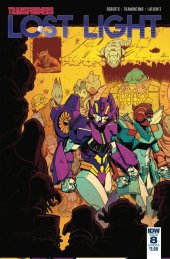 Transformers: Lost Light #8 SUB-A Cover