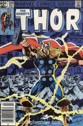 The Mighty Thor #329 Newsstand Edition