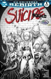 Suicide Squad #1 BuyMeToys.com Exclusive Dale Keown Limited Edition Variant
