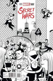 Secret Wars #1 Zdarsky Party Sketch Variant