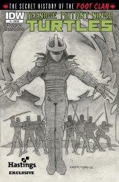 Teenage Mutant Ninja Turtles: The Secret History of the Foot Clan #1 Hastings Variant