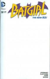 Batgirl #38 Blank Variant
