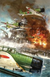 Pearl Harbor From Pages Of Combat GN Dave Dorman Cover