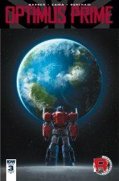 Optimus Prime #3 RI Cover