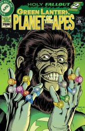 Planet of the Apes / Green Lantern #6 1:20 Cover Rivoche Variant