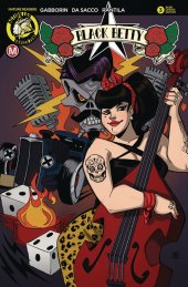 Black Betty #3 Cover E Trom