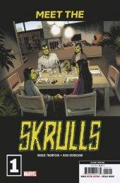 Meet the Skrulls #1 2nd Printing Martin Variant