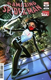 The Amazing Spider-Man #50 Variant Cover by Belen Ortega