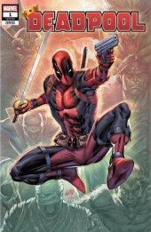 Deadpool #1 Rob Liefeld Variant B
