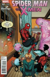 Spider-Man and the X-Men #1 Hastings Exclusive Variant