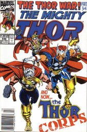 The Mighty Thor #440 Newsstand Edition