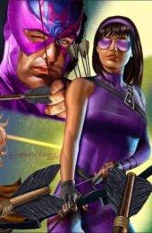 Generations: Hawkeye & Hawkeye #1 Greg Horn Connecting Virgin Cover