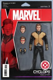 Powers of X #1 Action Figure Variant
