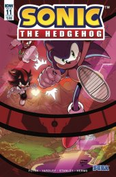 Sonic the Hedgehog #11 Cover B Yardley