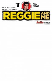 Reggie and Me #1 Cover J Blank Sketch