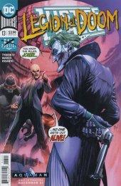 Justice League #13 Original Cover