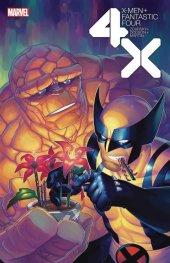 X-Men / Fantastic Four #3 Hetrick Flower Variant