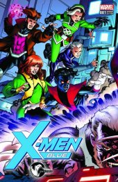 X-Men: Blue #1 Unknown Comic Books Exclusive Connecting Variant