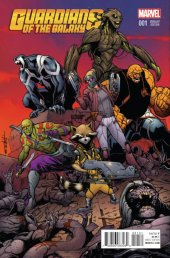 Guardians of the Galaxy #1 Schitti Variant