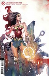 Wonder Woman #757 Card Stock Variant Edition