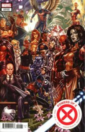 Powers of X #1 Mark Brooks Connecting Variant Edition