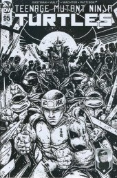 Teenage Mutant Ninja Turtles #95 Montreal Comic Con Variant B/W