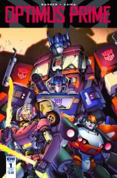 Optimus Prime #1 SUB-B Cover
