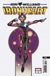 Ironheart #1 2nd Printing Vecchio Variant