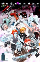 Descender #32 Cover B Lil Robot Nguyen