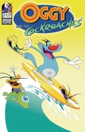 Oggy & The Cockroaches #3 Cover B Surfing Roaches