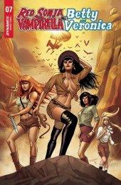 Red Sonja & Vampirella Meet Betty & Veronica #7 FOC Variant