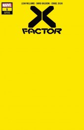 X-Factor #1 1:20 Yellow Variant