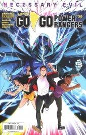 Go Go Power Rangers #30 Original Cover