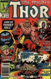 The Mighty Thor #389 Newsstand Edition
