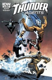 T.H.U.N.D.E.R. Agents #6 Subscription Variant