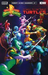 Mighty Morphin Power Rangers / Teenage Mutant Ninja Turtles #1 3rd Printing