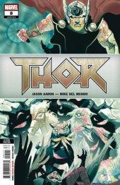 Thor #8 2nd Printing Mundo Variant