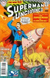 Superman Unchained #4 75th Anniversary Silver Age Cover