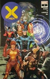 X-Men #1 Walmart Exclusive Variant (Blue Logo)