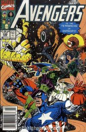 The Avengers #330 Newsstand Edition