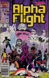 Alpha Flight #33 Newsstand Edition