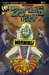 Zombie Tramp #73 Cover F Huang Risque