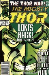 The Mighty Thor #441 Newsstand Edition