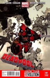 Deadpool #1 Bachalo Variant