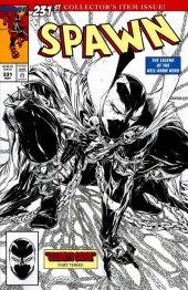 Spawn #231 Black & White Variant
