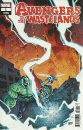 Avengers of the Wastelands #1 Variant Cover by Garry Brown